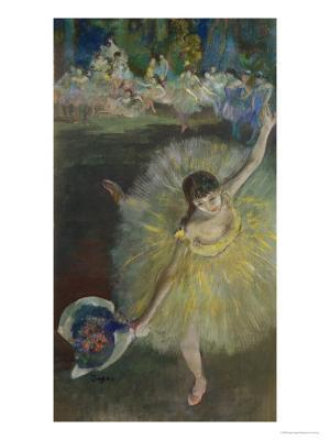 End of an Arabesque, 1877 - Giclee Print