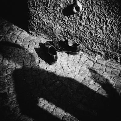 Shadow and Shoes - Photographic Print