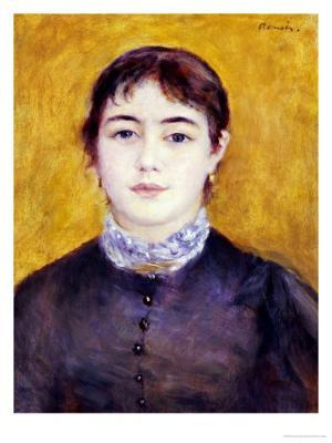 Young Woman Wearing Blue, 1879 - Giclee Print