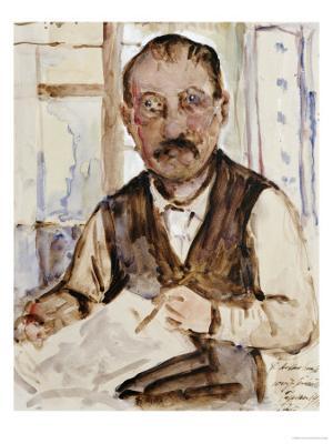 Self Portrait, 1918 - Giclee Print
