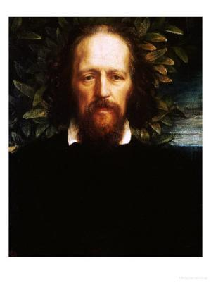 "The ""Bowman"" Portrait of Alfred, Lord Tennyson, as Poet Laureate, 1864 - Giclee Print"