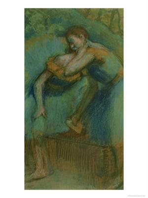 Two Dancers - Giclee Print