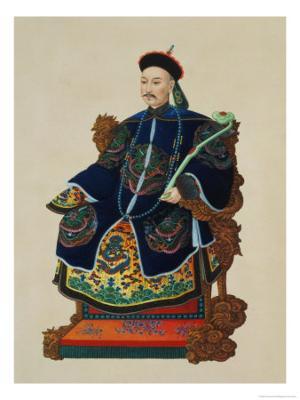 Portrait of a Mandarin - Giclee Print