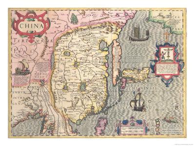 China, circa 1607 - Giclee Print
