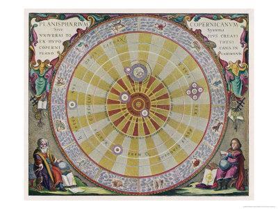 Copernicus's System - Giclee Print