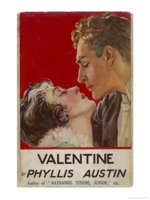 """Valentine"" (Phyllis Austin) They Kiss - Giclee Print"