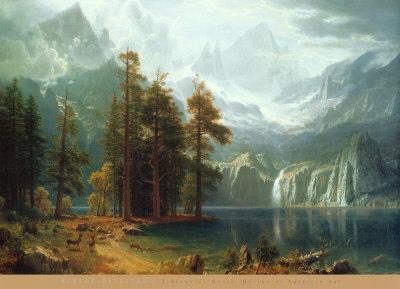 Sierra Nevada in California - Art Print
