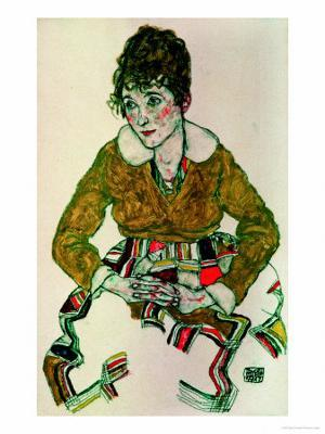 Portrait of the Artist's Wife - Giclee Print