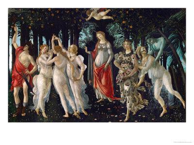 La Primavera (Spring), 1477 - Giclee Print