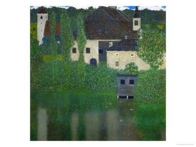 Unterach Manor on the Attersee Lake, Austria, 1915-1916 - Giclee Print
