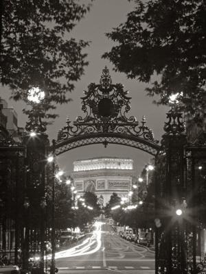 Arc de Triomphe, Paris, France - Photographic Print