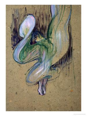 Loie Fuller at the Folies Bergere - Giclee Print