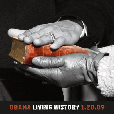 Obama: Living History, 1.20.09 - Art Print