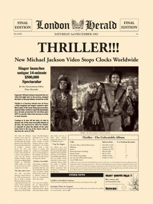 Thriller!!! - Art Print
