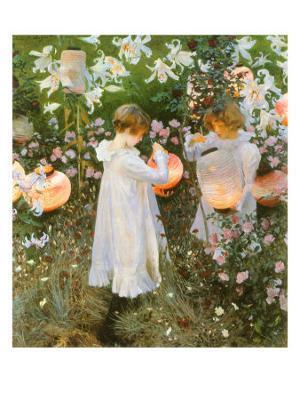 Chinese Lanterns, Girls, 1885 - Giclee Print