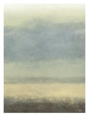 Coastal Rain I - Stretched Canvas Print