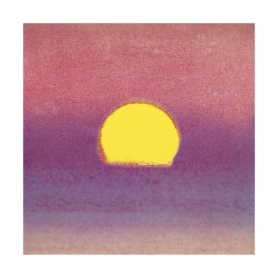 Sunset, c.1972 (pink, purple, yellow) - Giclee Print