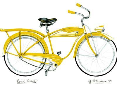 Yellow Roadrunner - Giclee Print