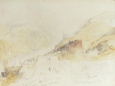 Rudesheim on the Rhine - Giclee Print