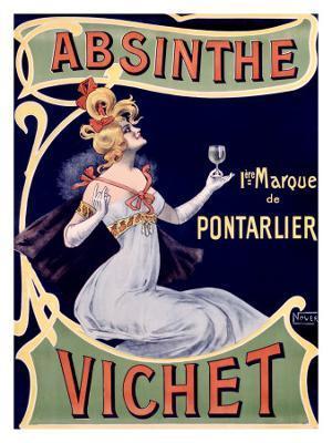 Absinthe Vichet - Giclee Print