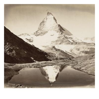 Paysage de montagne, le Mont Cervin - Giclee Print