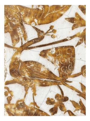 Panneau de revêtement mural fragmentaire - Giclee Print