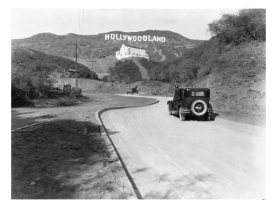 Hollywoodland, Los Angeles c.1924 - Giclee Print
