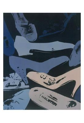 Diamond Dust Shoes, 1981 (Blue and Grey) - Art Print