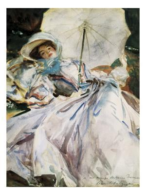 Lady with Parasol - Giclee Print