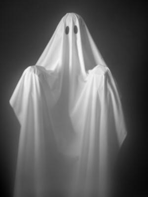 Ghost Costume - Photographic Print