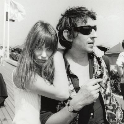 Serge Gainsbourg and Jane Birkin, July 23, 1970 - Photographic Print