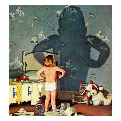 """Big Shadow, Little Boy,"" October 22, 1960 - Giclee Print"