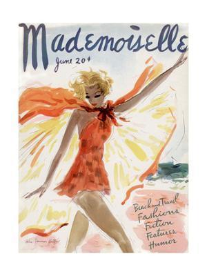 Mademoiselle Cover - June 1936 - Giclee Print