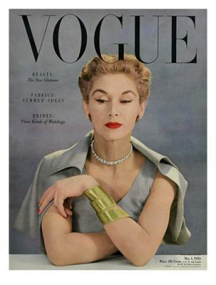 Vogue Cover - May 1950 - Bracelet Envy - Giclee Print