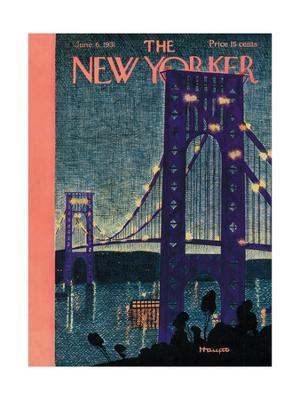 The New Yorker Cover - June 6, 1931 - Giclee Print