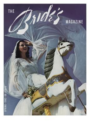 Brides Cover - February, 1942 - Giclee Print