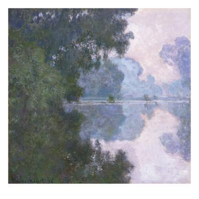 Morning on the Seine, near Giverny - Giclee Print