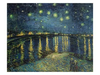 Starry Night Over the Rhone - Giclee Print