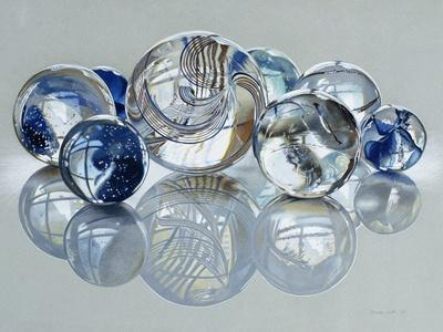 Glassies Marbles XIV - Photographic Print
