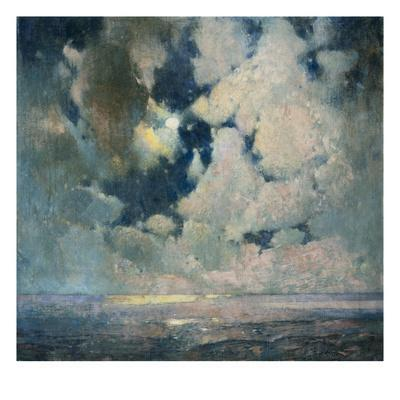 The Ocean at Sunrise - Giclee Print