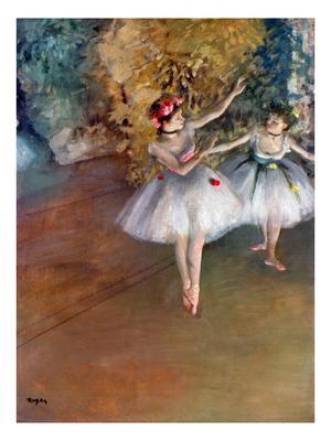 Degas: Dancers, C1877 - Giclee Print