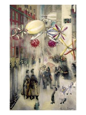 Evergood: Street Scene - Giclee Print