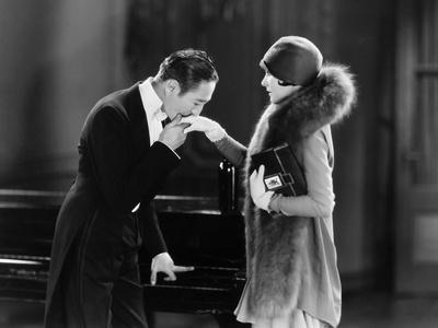 Silent Film Still: Couples - Photographic Print