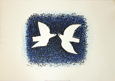 Couple D'Oiseaux - Collectable Print