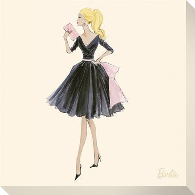 Barbie™, Midnight Mischief - Stretched Canvas Print