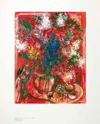 Die roten Blumen, c.1950 - Art Print