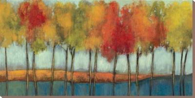 Lollipop Trees - Stretched Canvas Print