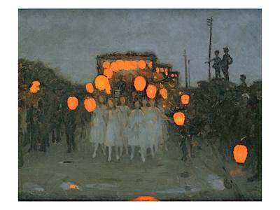 The Lantern Parade c.1918 - Giclee Print