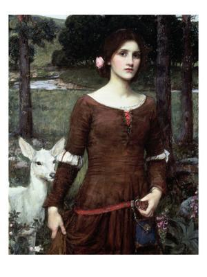 The Lady Clare, 1900 - Giclee Print