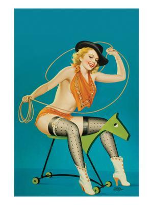 """Flirt Magazine;"""" Roping the Horse"""" - Photo"""